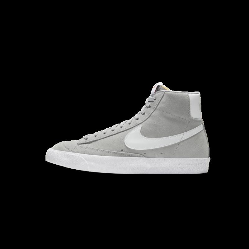 Nike Nike Mens Blazer Mid 77 Suede LT Smoke Grey/White CI1172 004