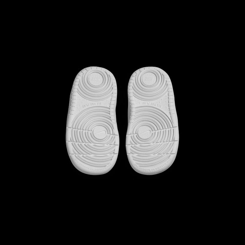 Nike Nike Court Borough Mid 2 Toddler White/White CD7784 100