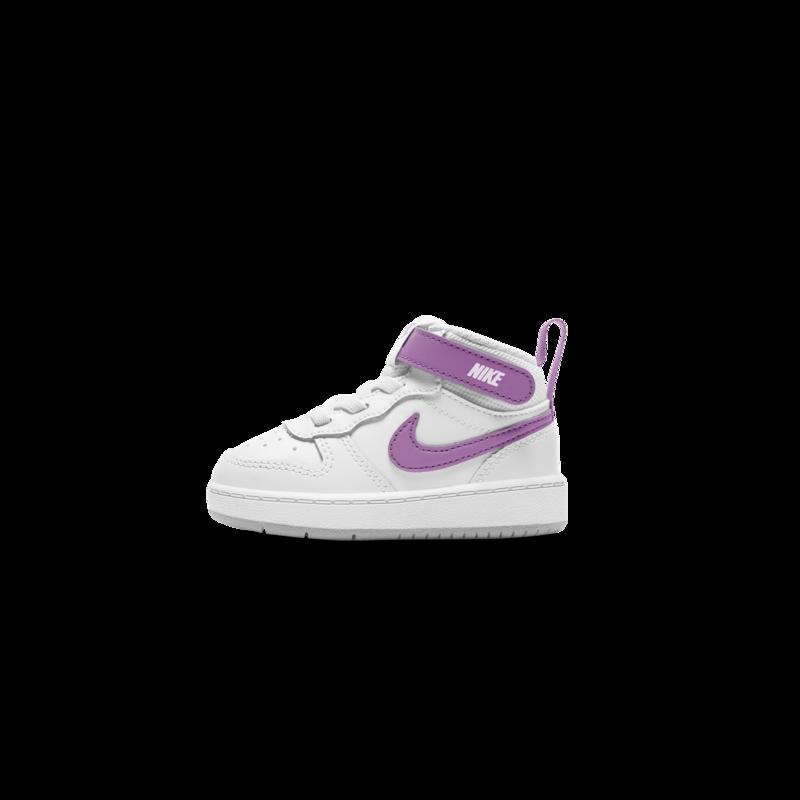 Nike Nike Court Borough Mid 2 Toddler White/Fuchsia Glow CD7784 103