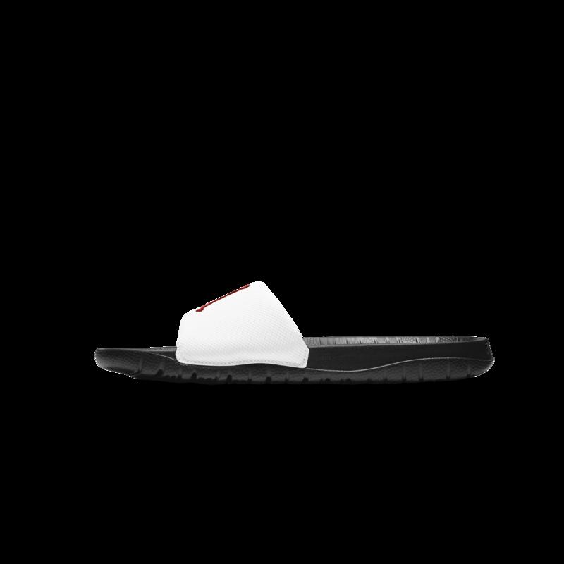 Air Jordan Air Jordan Mens Break Slide Black/University Red-white AR6374 016