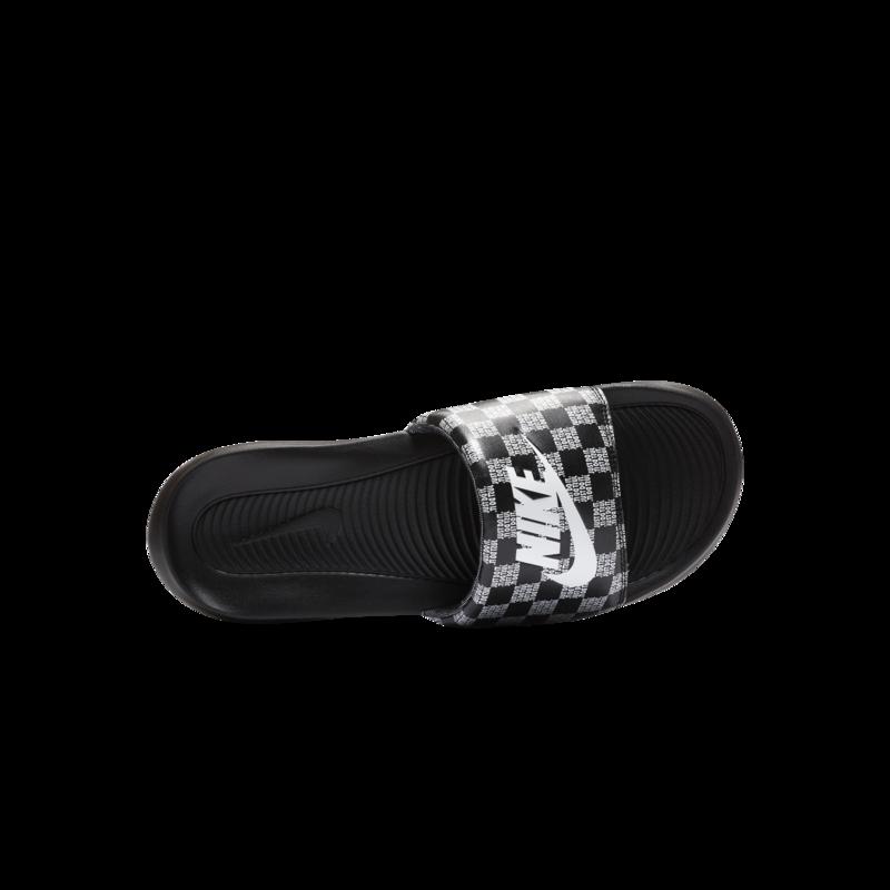 Nike Nike Mens Victori One Slide Print Black/White-Black CN9678 004