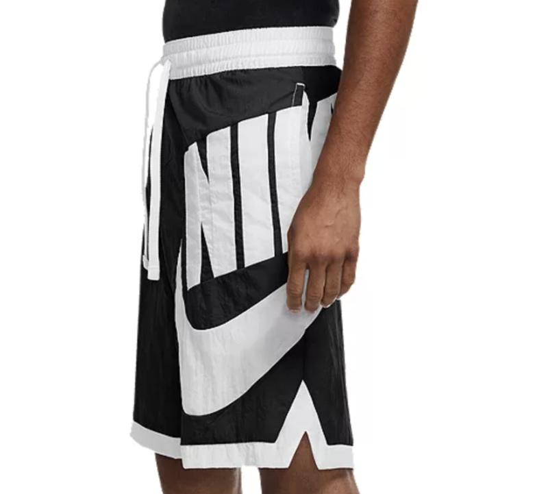 Nike Nike Men's Dri-FIT Throwback Futura Basketball Shorts Black/White CV1829 010