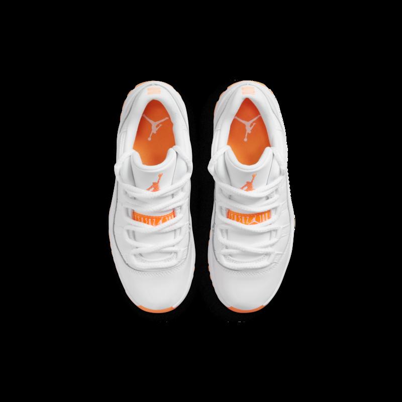 """Air Jordan Air Jordan 11 Retro Low Preschool """"Citrus"""" DJ4328 139"""