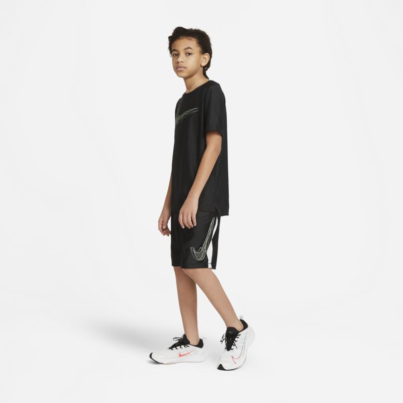 Nike Nike Kid's Dri-Fit Tee Black/Cobalt DA0244 010