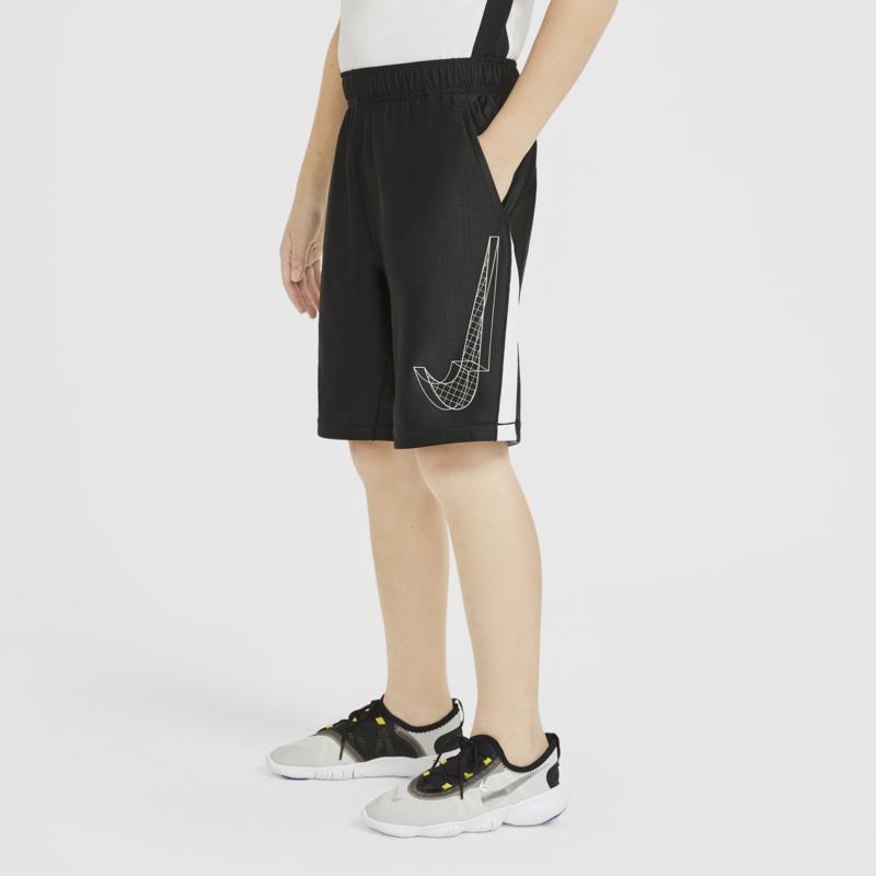 Nike Nike Kid's Dri-Fit Graphic Shorts Black/Cobalt DA0258 010