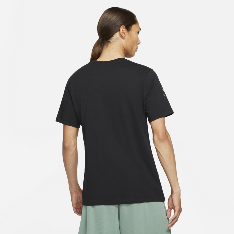 Nike Nike Men's 'NY vs. NY' Men's Basketball T-Shirt Black/White DD0821 010