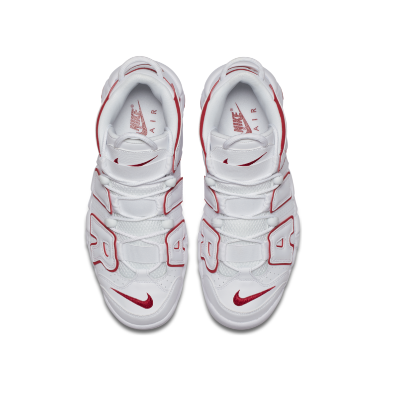 Nike Nike Air More Uptempo '96 Mens White/Varsity Red 921948 102