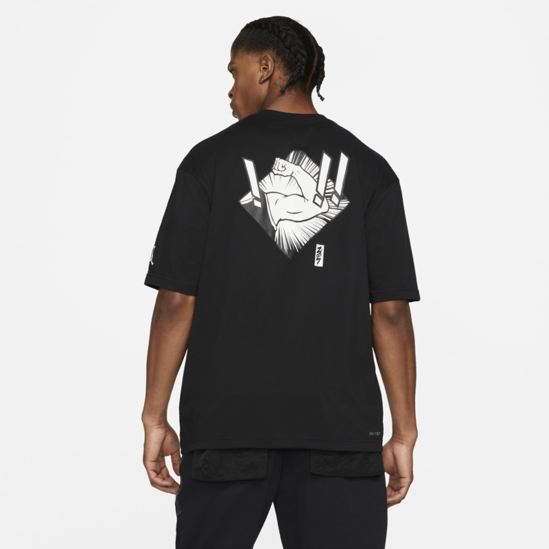 Air Jordan Air Jordan Men's Dri-Fit Zion T-shirt Black/White DH0592 010