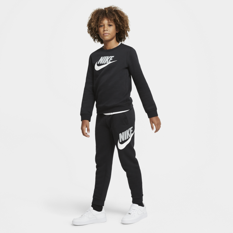 Nike Nike Kid's Club Fleece Pant Black/White/Grey CJ7863 010