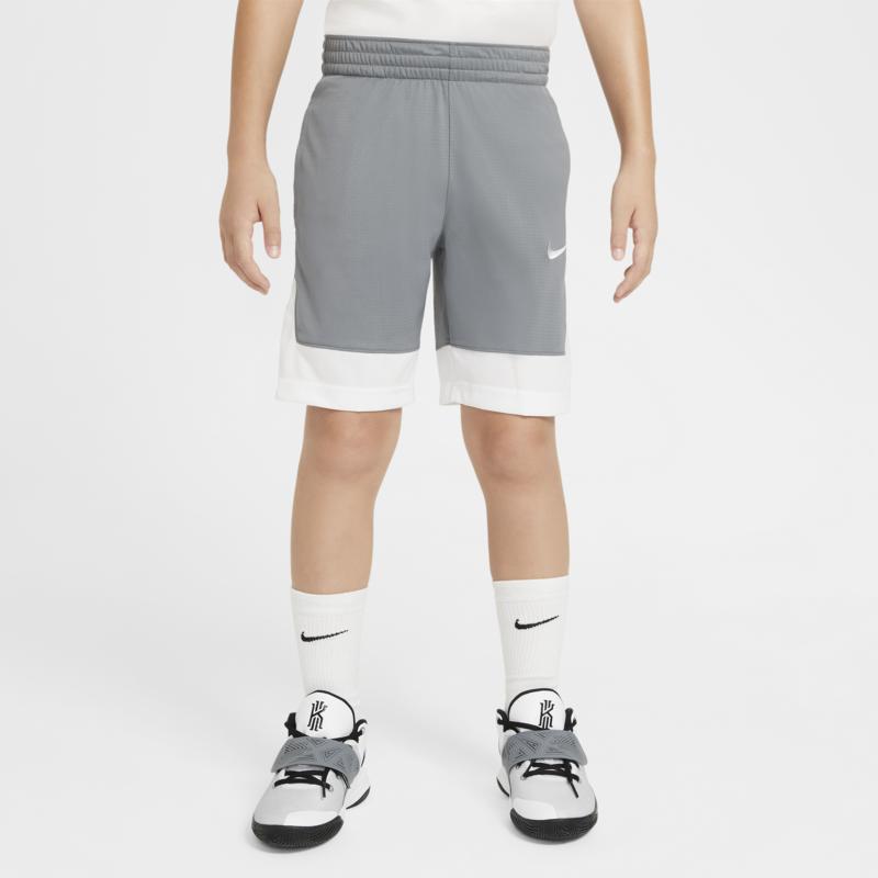 Nike Nike Boys Basketball Shorts Grey/White CU9137 084