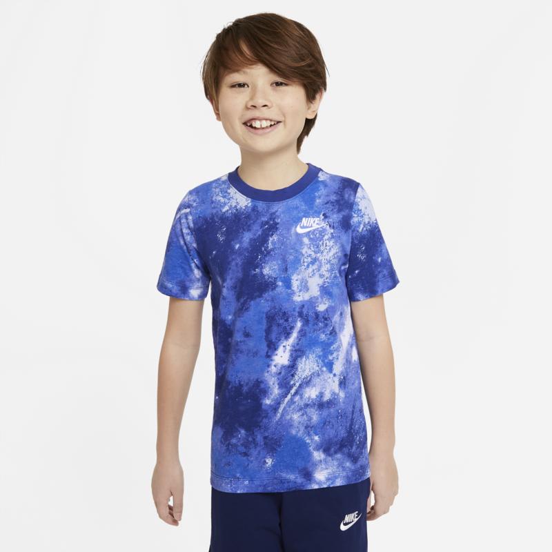 Nike Nike Boys Printed Tshirt 'Royal Blue/White' DH6532 470