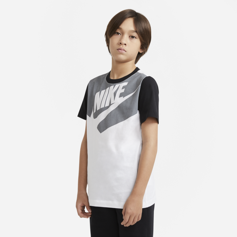 Nike Nike Boys Tshirt 'Grey/White/Black' DC7511 100