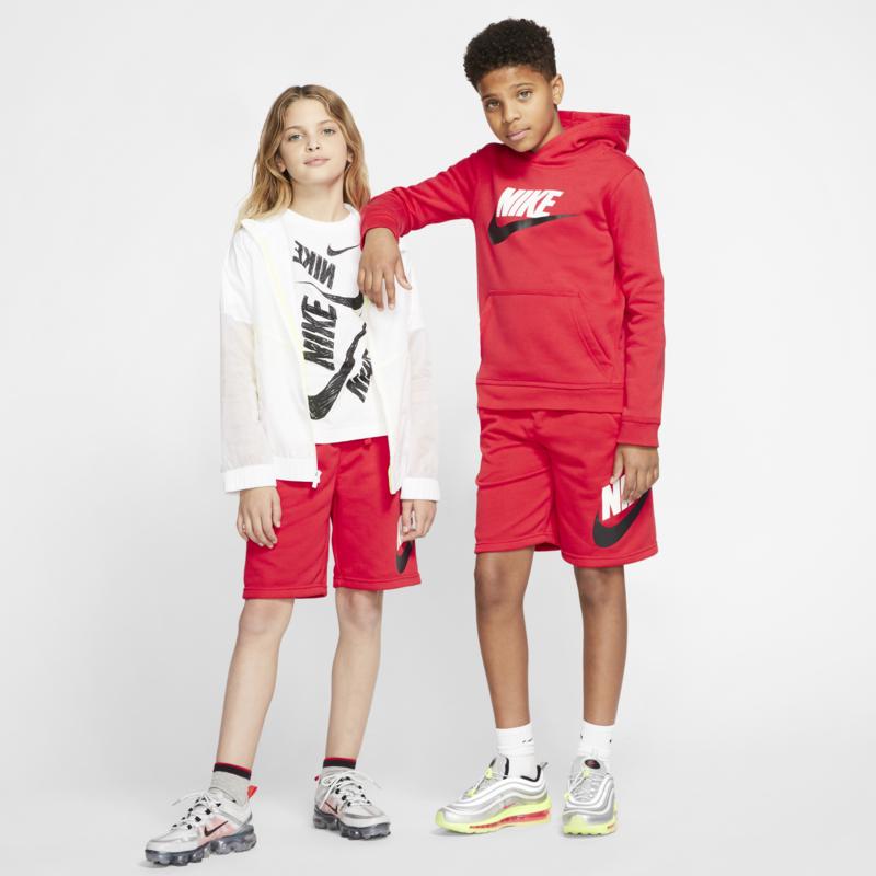 Nike Nike Boys Sportswear Club Fleece Shorts Red/White/Black CK0509 657