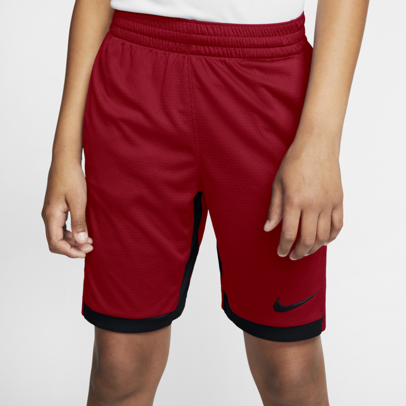 Nike Nike Boys Dri Fit Trophy Training Shorts Red 939655 687