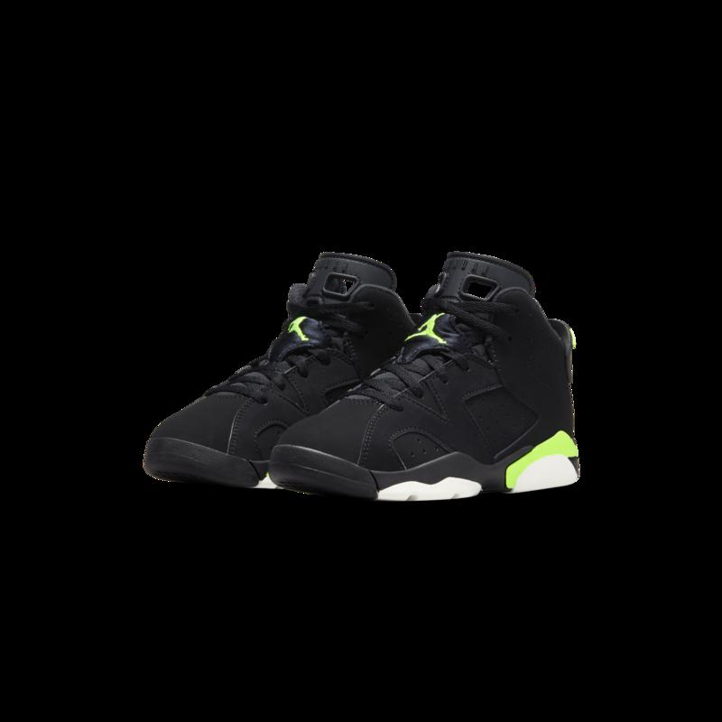 Air Jordan Air Jordan 6 Retro Preschool Black/Electric Green 384666 003