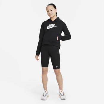 Nike Nike Girls Hoodie Black/White DC7206 010
