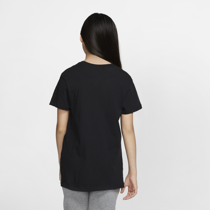 Nike Nike Girls Sportswear Tee Black/White AR5088 010