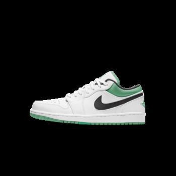 Air Jordan Air Jordan 1 Low Men's White/Stadium Green 553558 129