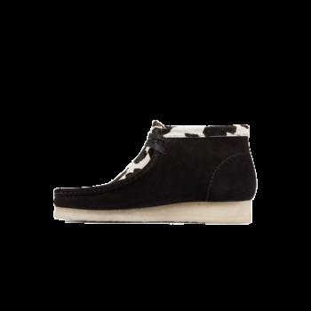 Clarks Men's Wallabee Boot 'Black Cow Print' 54810
