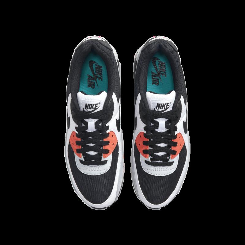 Nike Nike Men's Air Max 90 White/Turf Orange/Black DC9845 100
