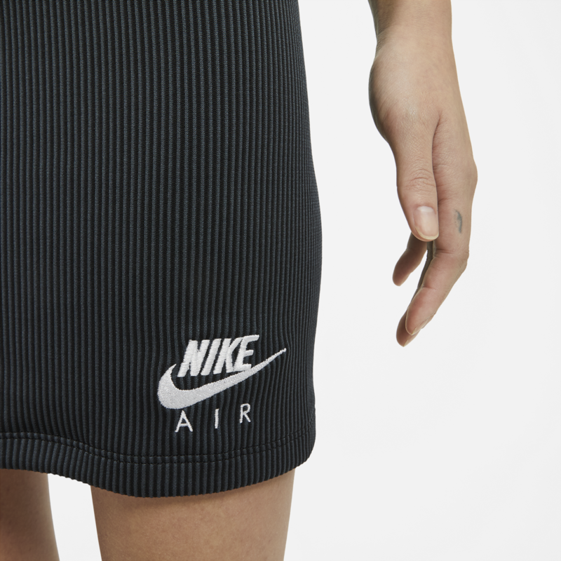 Nike Nike Womens Air Skirt Rib Black CZ9343 010