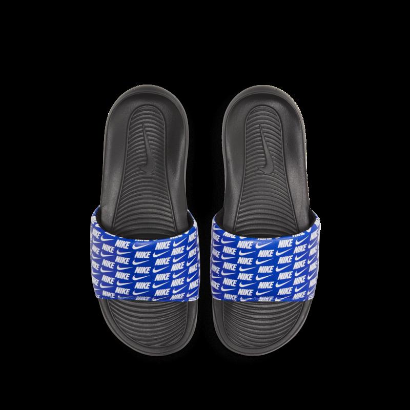Nike Nike Mens Victori One Slide Print Royal Blue/Black CN9678 401