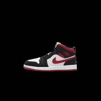 Air Jordan Air Jordan 1 Mid 'White/Gym Red-Black' PS 640734 122