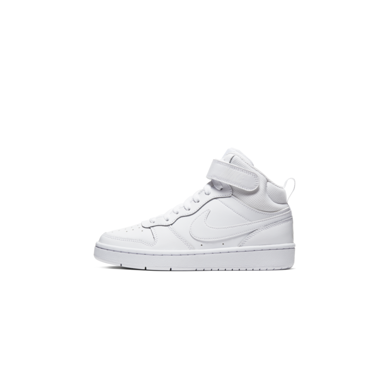 Nike Nike Court Borough Mid 2 Gradeschool White/White CD7782 100