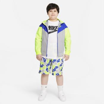 Nike Nike Kids Sportswear Windrunner Hooded Jacket Blue/Cobalt/Grey 850443 077
