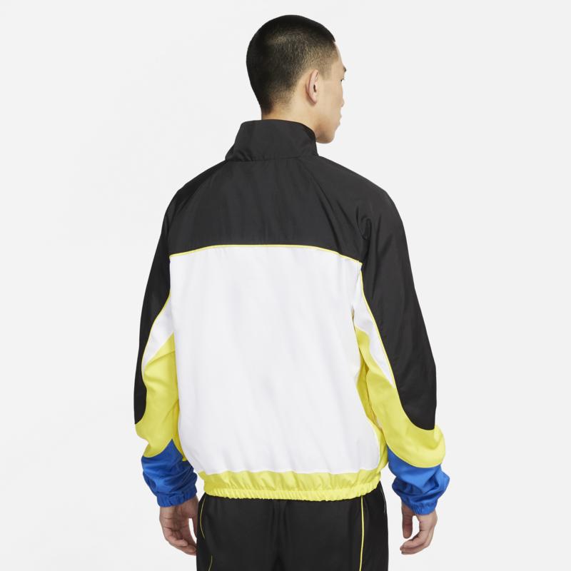 Nike Nike Men's Throwback Track Jacket Yellow/Black/White CV1931 013