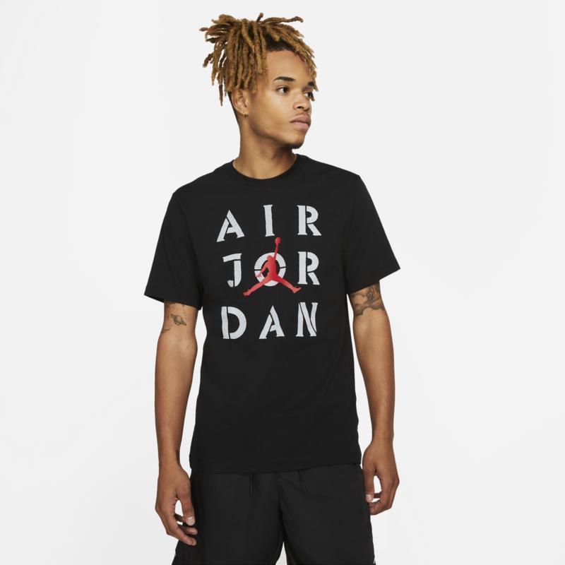 Air Jordan Air Jordan Mens AJ5 T-shirt Black/White DD5265 010