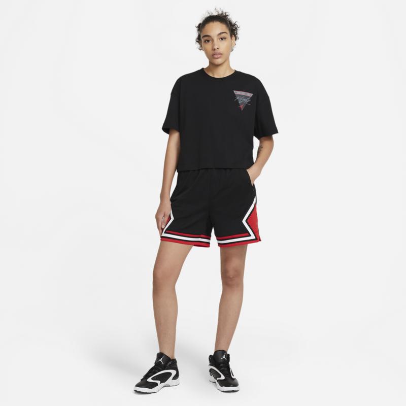 Air Jordan Air Jordan Womens Essential Flight T-Shirt Black DC2153 010
