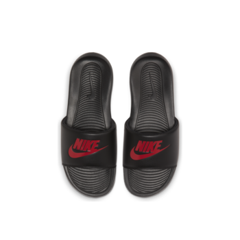 Nike Nike Mens Victori One Slide Black/University Red CN9675 004