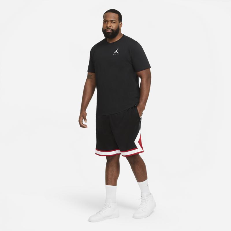 Air Jordan Air Jordan Men's Diamond Knit Shorts Black/White/Red CV6022 010