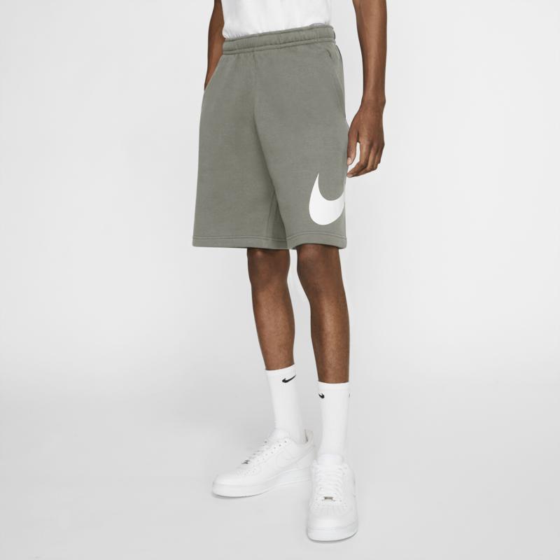 Nike Nike Mens Sportswear Fleece Club Shorts Green/White BV2721 320