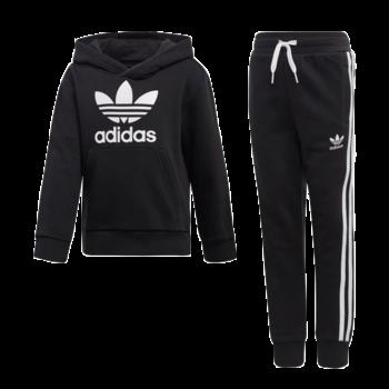 Adidas Adidas Kids Hoodie Set Black/White H25218