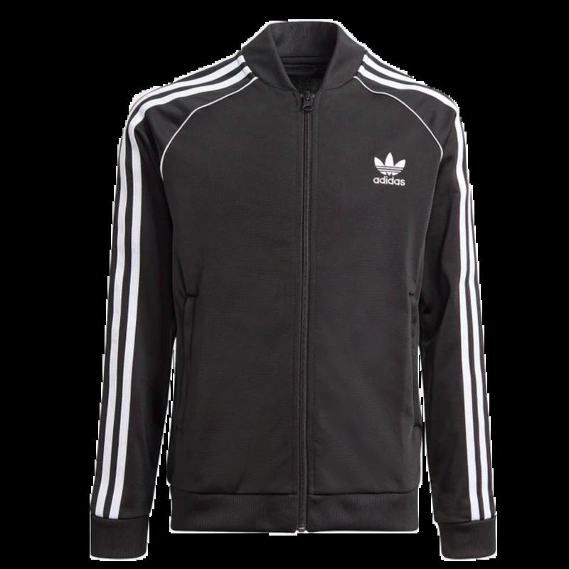 Adidas Adidas Kids SST TRACK TOP BLACK/WHITE GN8451