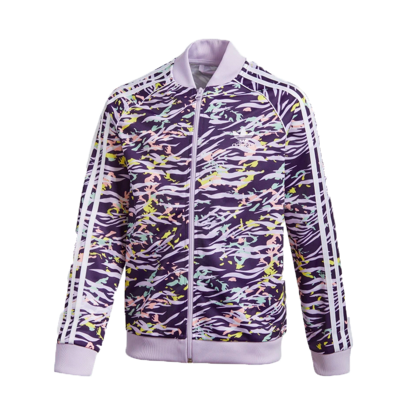 Adidas Adidas Kids SST Top Purple/Multicolor/white GD2813