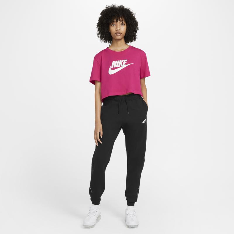 Nike Nike Women's Cropped Tee Fireberry/White BV6175 616