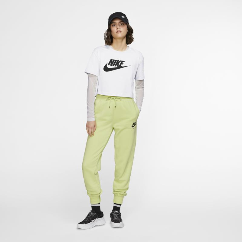 Nike Nike Women's Cropped Tee Heather Grey/Black BV6175 051