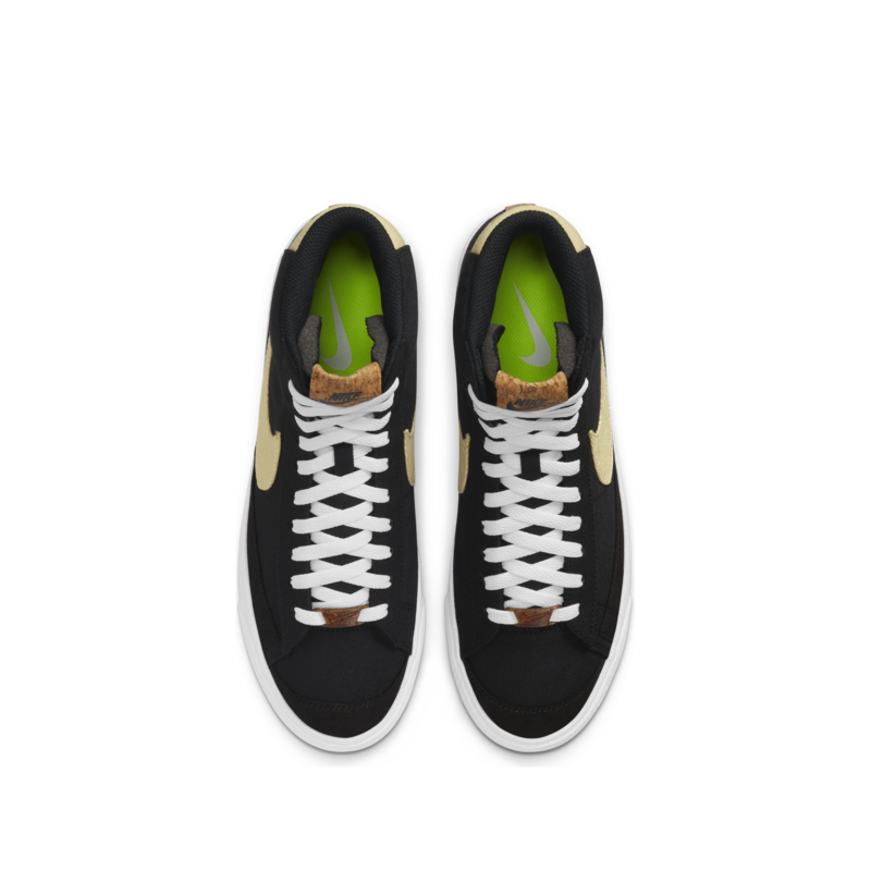 Nike Nike Men's Blazer MID '77 Recycle Obsedian/White CI1166 100