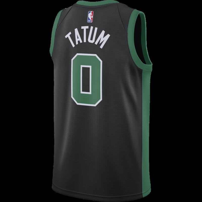 Air Jordan Air Jordan Boston Celtics Jayson Tatum Jersey Black/Green CV9470 011