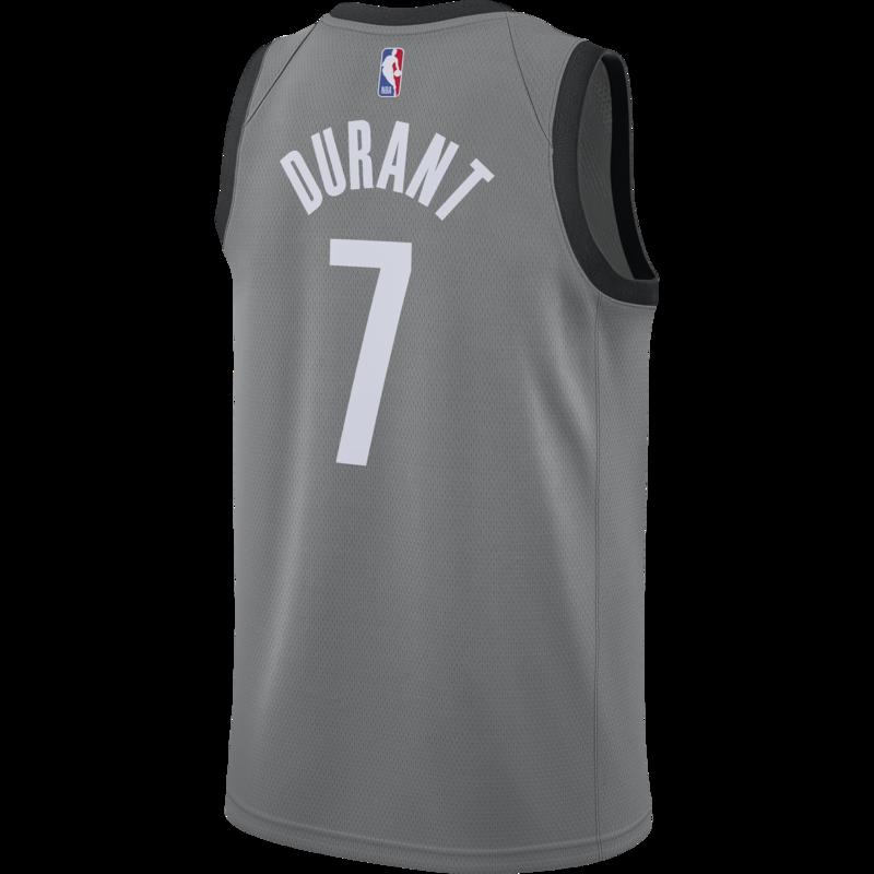 Air Jordan Air Jordan Brooklyn Nets Kevin Durant Jersey Grey/Black CV9469 005