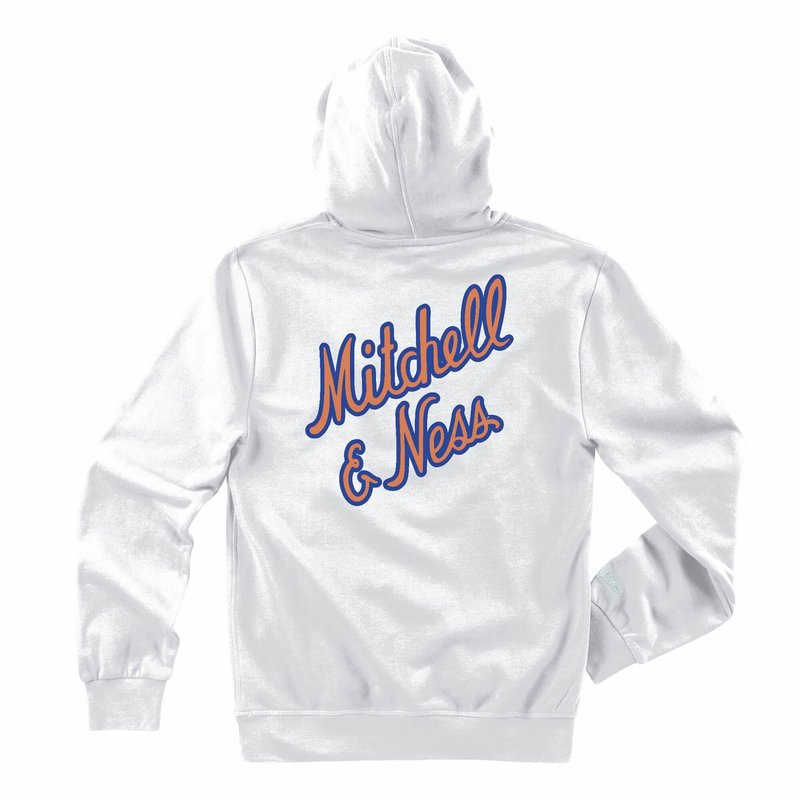 Mitchell & Ness Mitchell & Ness Space Jam Tune Squad Shadow Hoodie 'White' BMPHDX21048