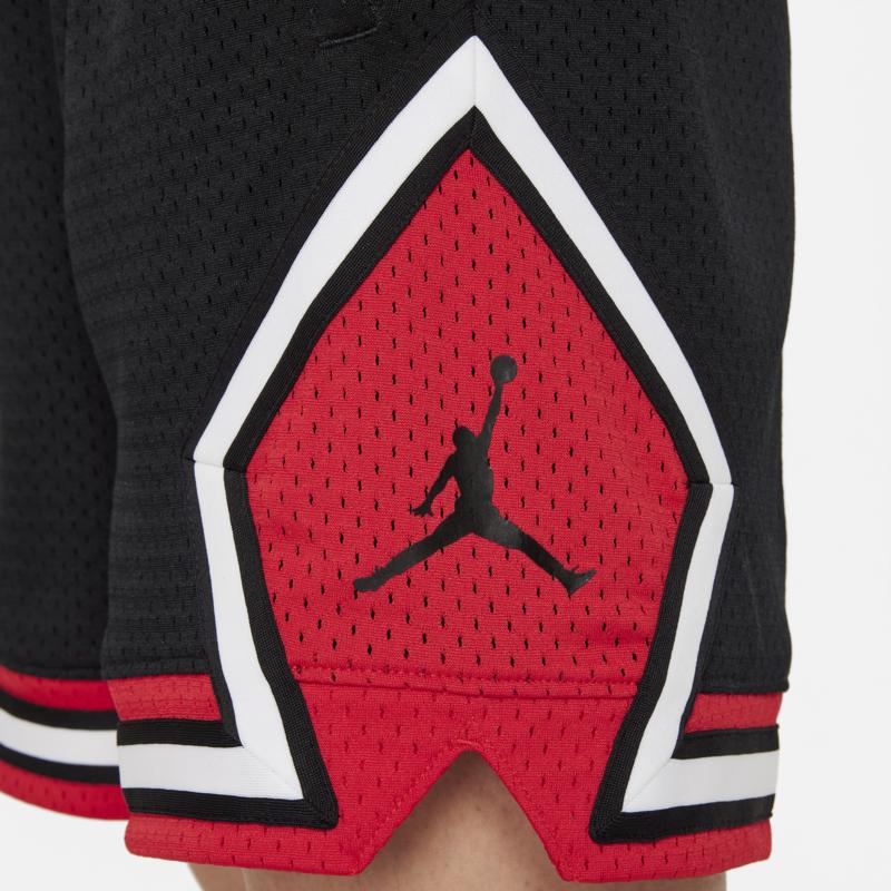 Air Jordan Air Jordan Women's Essential Diamond Shorts Black/Red-White DD0287 010