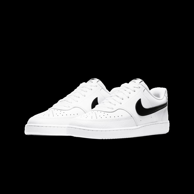 Nike Nike Men's Court Vision Low  'White/Black-White' CD5463 101