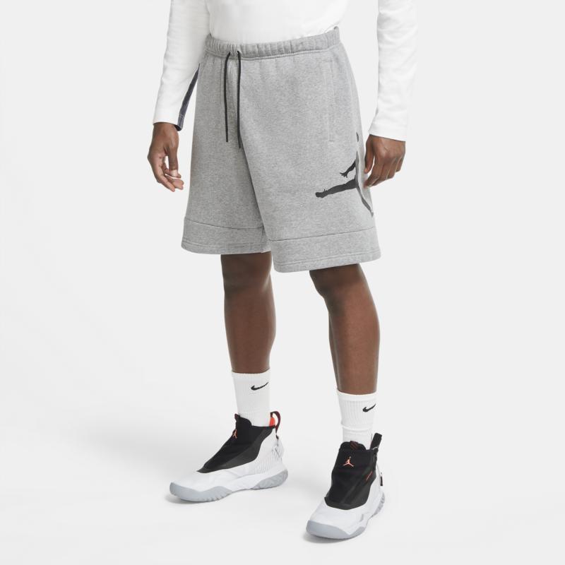Air Jordan Air Jordan Men's Jumpman Fleece Shorts Grey/Black CK6707 091