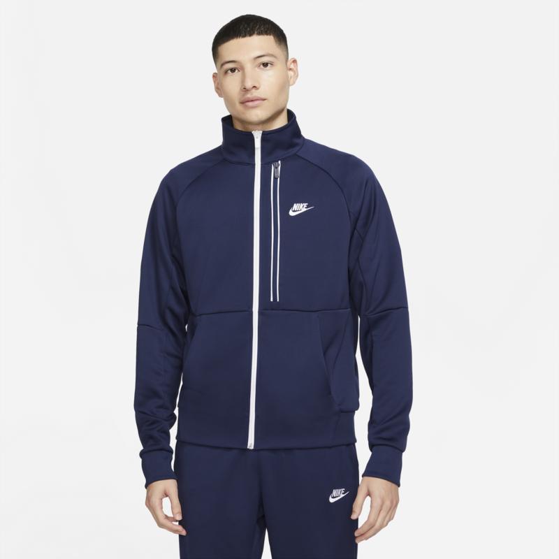 Nike Nike Men's Sportswear Tribute Full Zip Hoodie 'Navy' DA0003 410