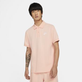 Nike Nike Men's Club Polo Peach/White CJ4456 800