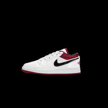 Air Jordan Air Jordan 1 Low White/Gym Red GS 553560 118